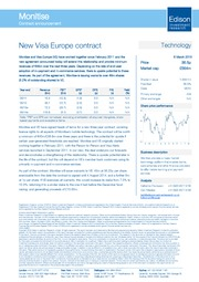 New Visa Europe contract