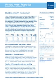 Building growth momentum